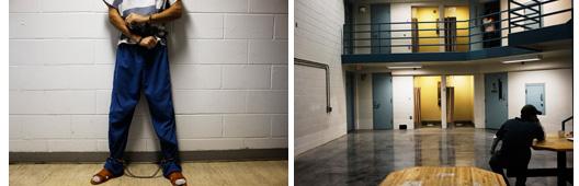 Canon City, Colorado. Juin et septembre 2009. Extrait de Prison Valley.